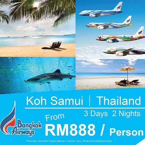 3 Days 2 Nights Koh Samui Free & Easy
