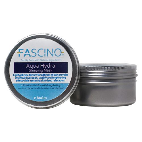 FASCINO Aqua Hydra Sleeping Mask, 80gm