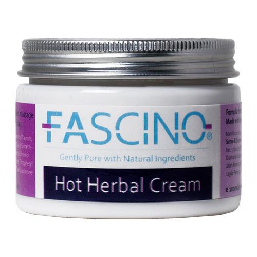 FASCINO Hot Herbal Cream,  100gm