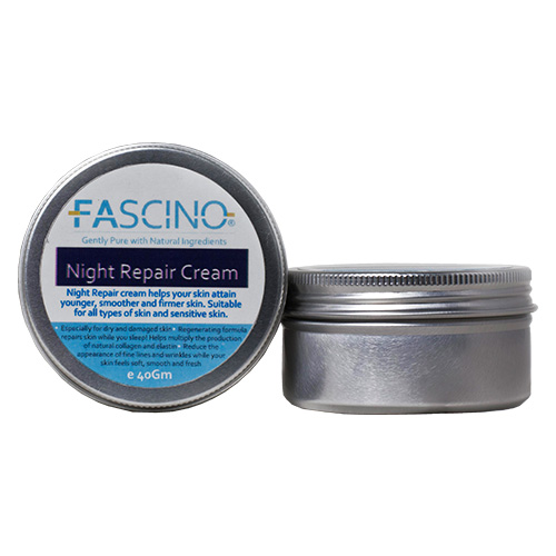 FASCINO Night Repair Cream, 40gm