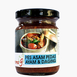 Mama G's Asam Pedas Chicken & Meat Cooking Paste (bottle)