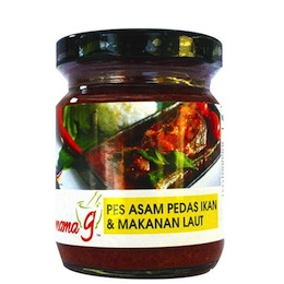 Mama G's Asam Pedas Fish & Seafood Cooking Paste (bottle)
