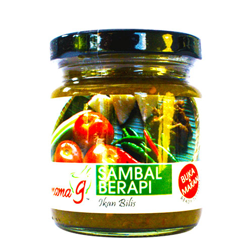 Sambal Berapi Mama G (bottle)