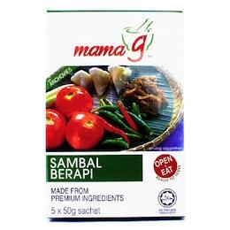 Sambal Berapi Mama G (sachets)