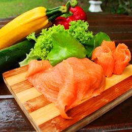 Traditional Cold Smoked Salmon