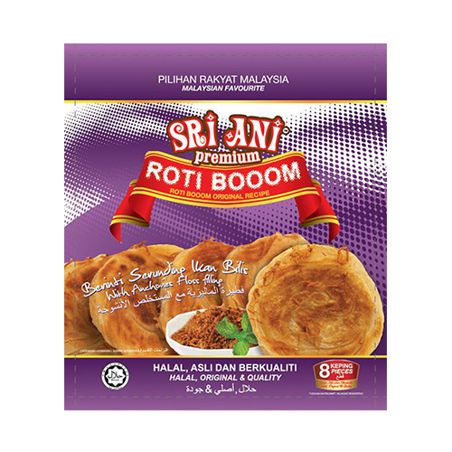 Sri Ani Premium Roti Booom With Anchovy Floss Filling