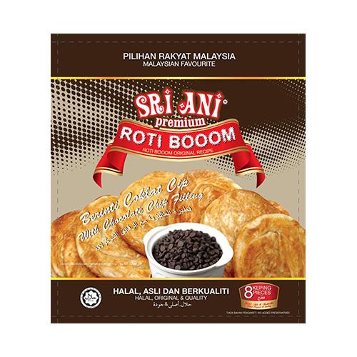 Sri Ani Premium Roti Booom With Chocolate chips Filling