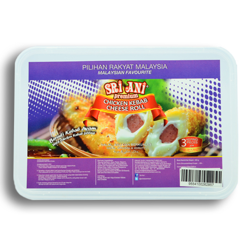 Sri Ani Premium Chicken Kebab Cheese Roll