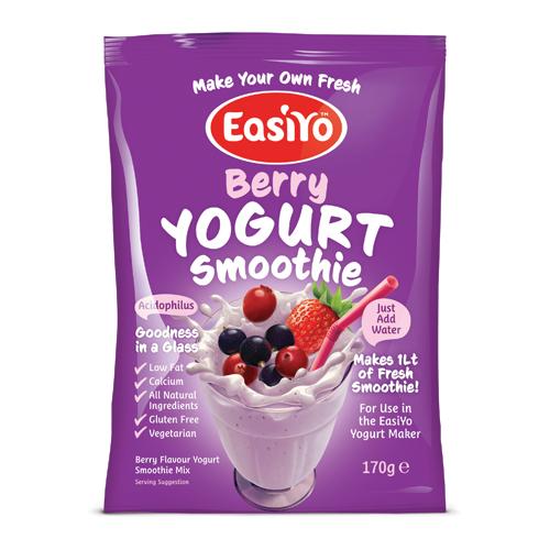Easiyo Berry Yogurt Smoothie