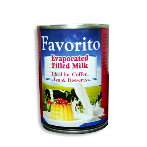 Favorito<sup>™</sup> Evaporated Filled Milk