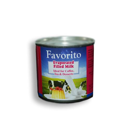 Favorito Evaporated Filled Milk