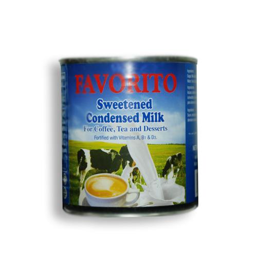Favorito<sup>™</sup> Sweetened Condensed Milk