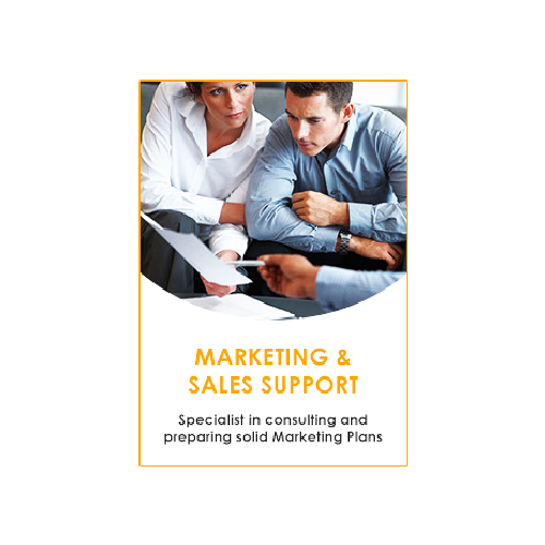 Marketing And Sales Support