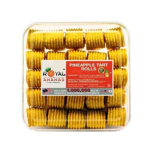 Royal Pineapple Tart Rolls