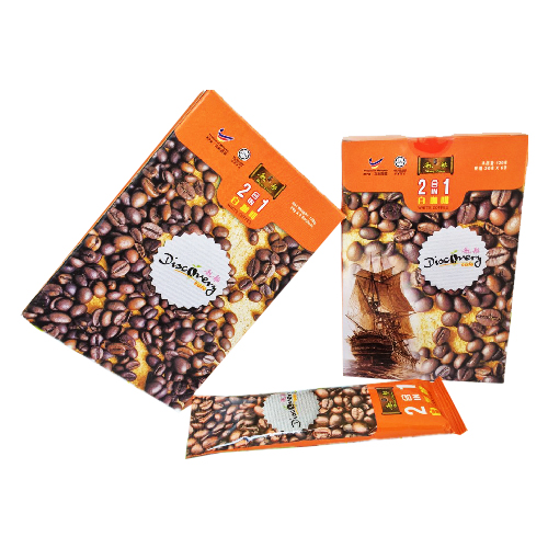 2 In 1 White Coffee 6 Sachets Pack