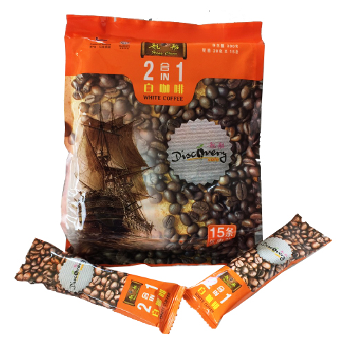 2 In 1 White Coffee Ecomony Pack