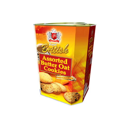 Royal British Assorted Butter Oat Cookies