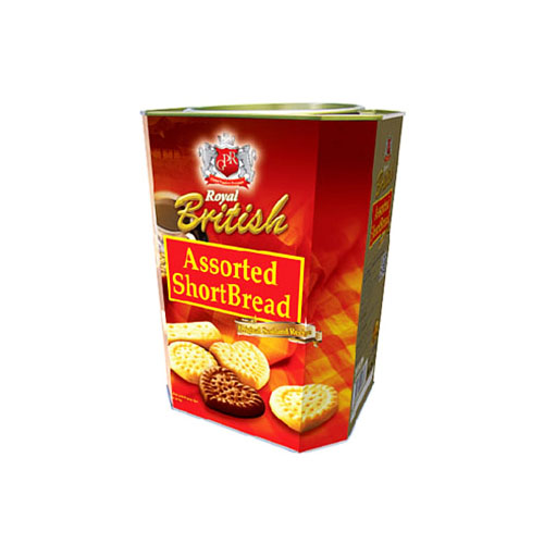 Royal British Assorted Shortbread Cookies
