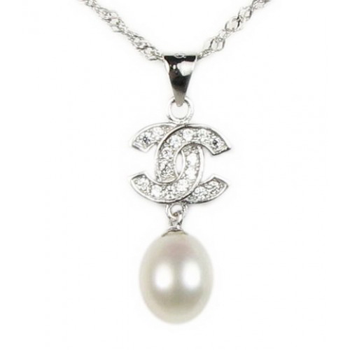Freshwater 925 Silver Drop Pearl Pendant