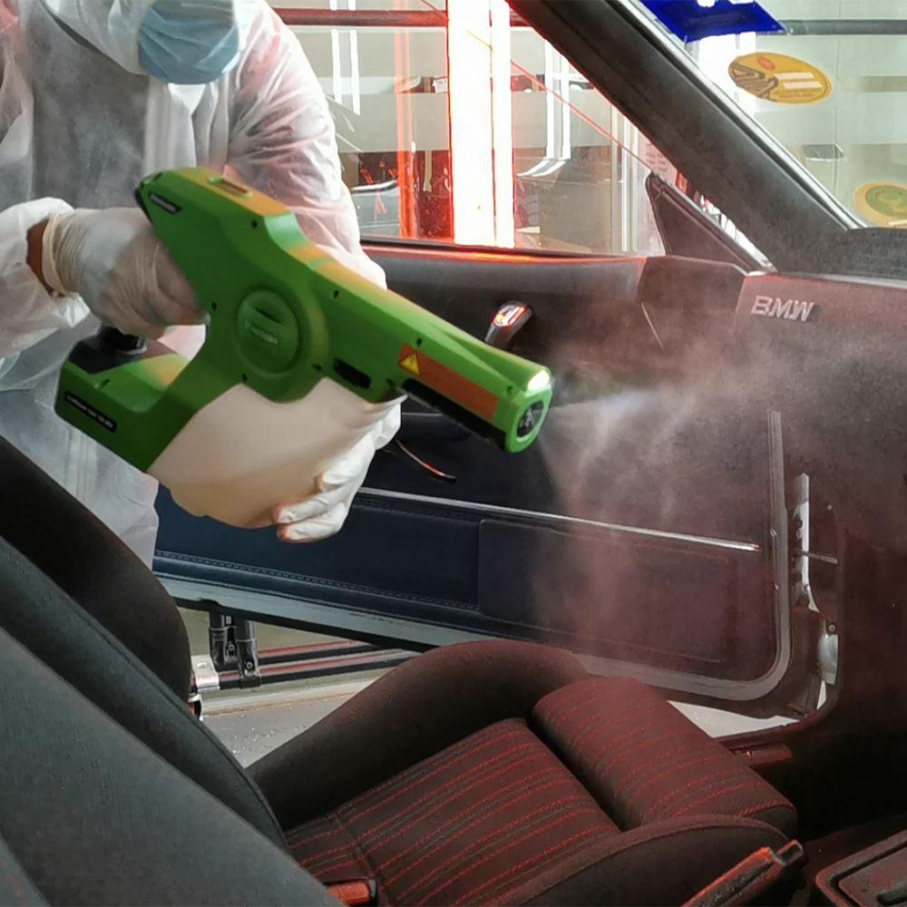 Sanitizing (Car & Building)
