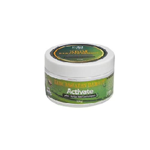 Krim rawatan rambut plus 9 herba aktif semulajadi