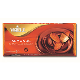 Vochelle Almonds Coated in dairy Milk Chocolate