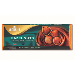 Vochelle Hazelnuts In Dairy Milk Chocolate