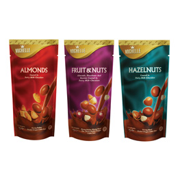 Vochelle Coated Nuts Chocolate (Doypack)