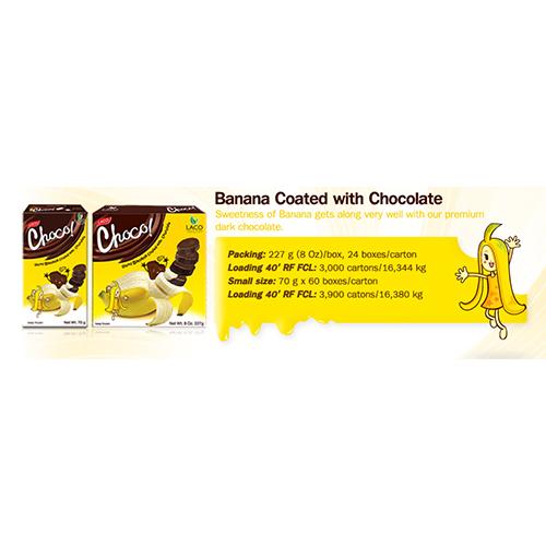 LACO Choco Banana Coated with Chocolate