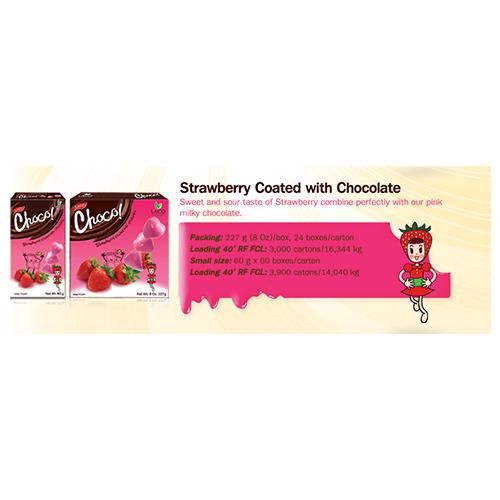 LACO Choco Strawberry Coated with Chocolate