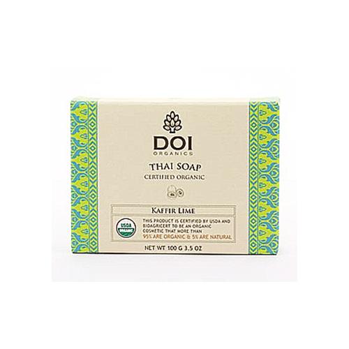 Organic Soap Certified by USDA- Kaffir lime