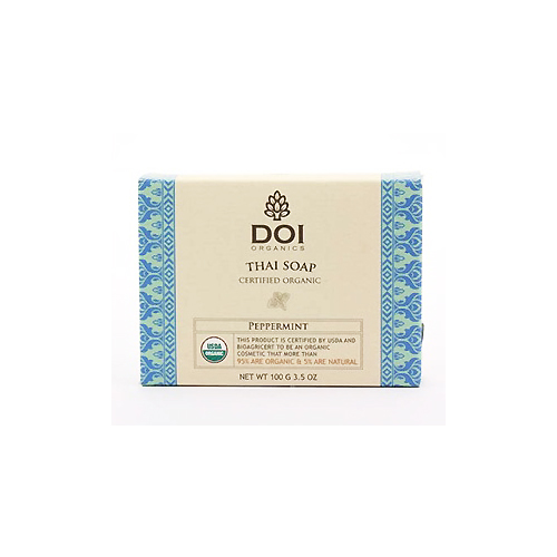 Organic Soap Certified by USDA- Peppermint