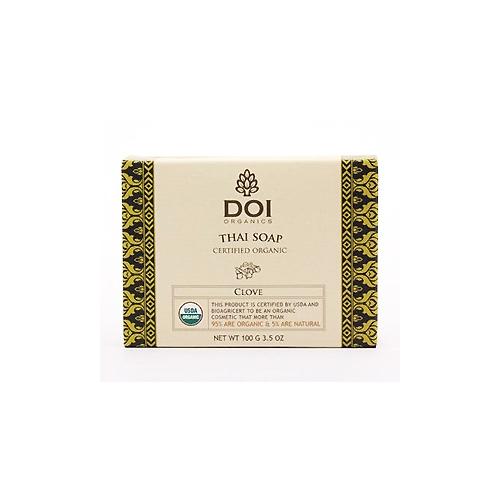 Organic Soap Certified by USDA- Thai clove