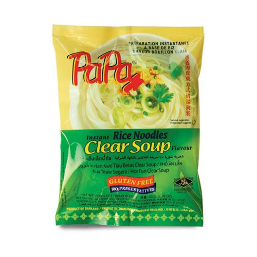 PAPA Instant Rice Noodles Clear Soup