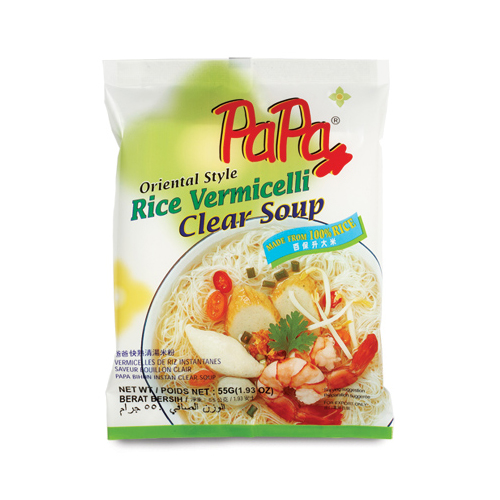 PAPA Instant Rice Vermicelli Clear Soup