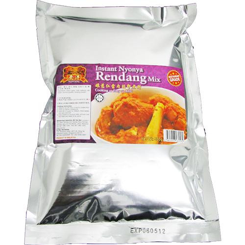 Instant Rendang Dry Sauce Mix