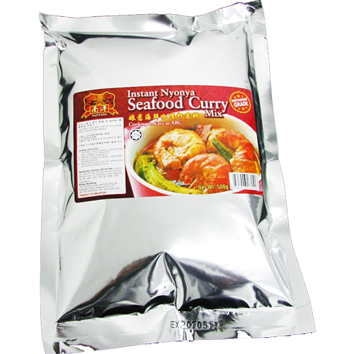 Instant Seafood Curry Dry Sauce Mix