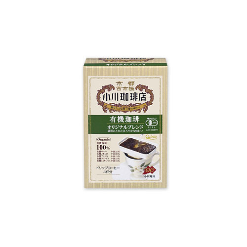 Ogawa Coffee Shop Organic Coffee Fair Trade Mocha Blend 4 Cups