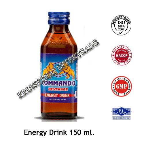 Commando Energy Drink (150ml)