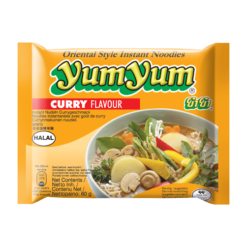 Curry Flavour Noodles