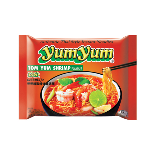 Tom Yum Shrimp Flavour Noodles
