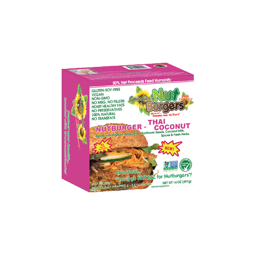 Carla Lee's Nutburgers – Thai Coconut™