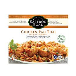 Chicken Pad Thai with Rice Noodles