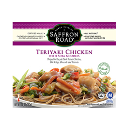 Teriyaki Chicken with Soba Noodles