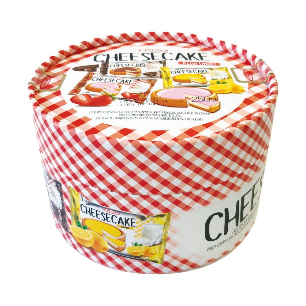 TAYAS Cheesecake Assorted Round Box (250g)