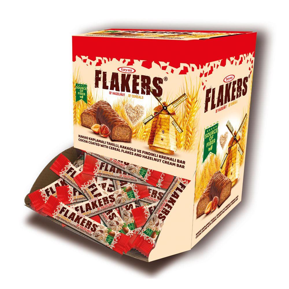 TAYAS Flakers (HAZELNUT) Carton Box (2000g)