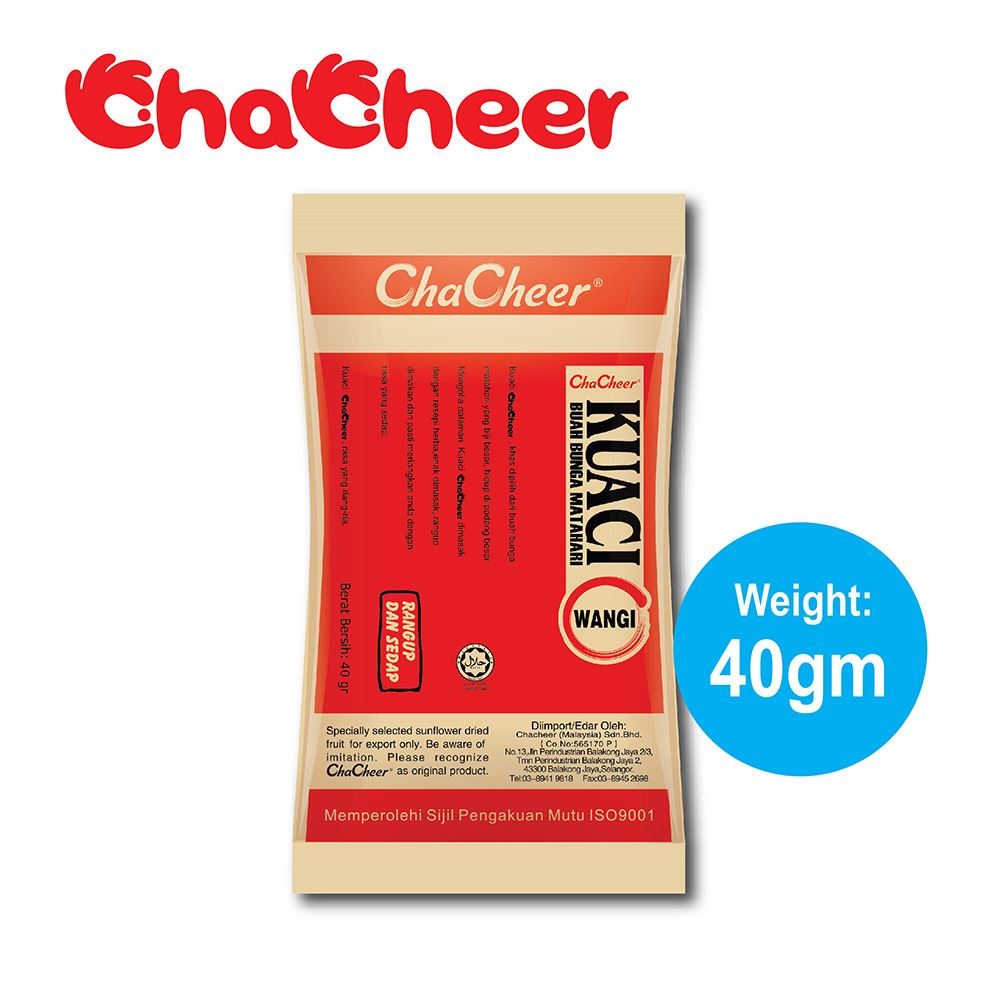 ChaCheer Kuaci Wangi Original 40 gram