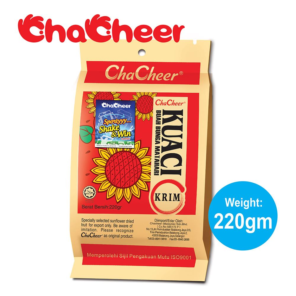 ChaCheer Kuaci Krim 220 gram