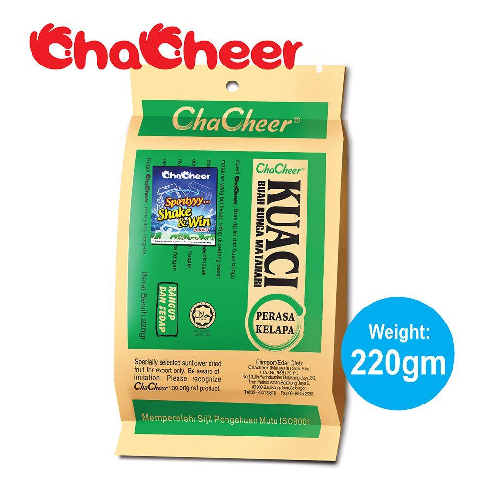 ChaCheer Kuaci Perisa Kelapa 220 gram
