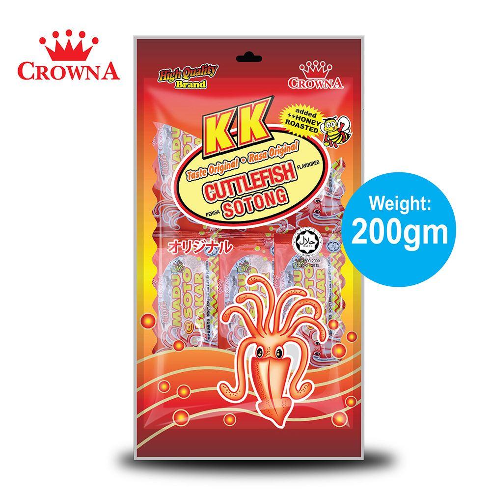 CrownA KK Cuttlefish 200 gram
